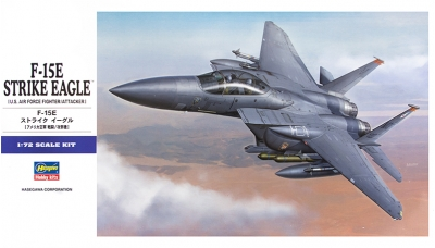 F-15E McDonnell Douglas, Strike Eagle - HASEGAWA 01569 E39 1/72