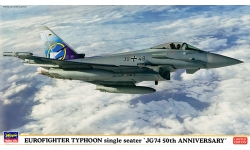 Typhoon Eurofighter (EF-2000), Single-seat variant - HASEGAWA 02097 1/72
