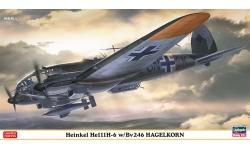 He 111H-6 Heinkel & BV 246 Blohm & Voss, Hagelkorn - HASEGAWA 02227 1/72