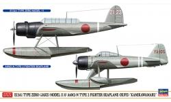 E13A1a Model 11a Aichi / A6M2-N Nakajima - HASEGAWA 02289 1/72
