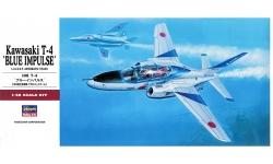 T-4 Kawasaki - HASEGAWA 07216 PT16 1/48