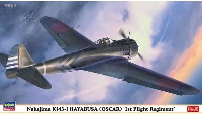 Ki-43-Ic (Hei) Nakajima, Hayabusa - HASEGAWA 07444 1/48