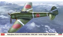 Ki-43-IIIa (Kou) Nakajima, Hayabusa - HASEGAWA 07468 1/48