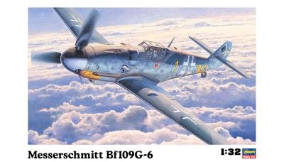 Bf 109G-6 Messerschmitt - HASEGAWA 08067 ST17 1/32