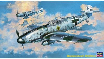 Bf 109G-6 Messerschmitt - HASEGAWA 09147 JT47 1/48