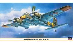 Hs 129B-2 Henschel - HASEGAWA 09360 1/48