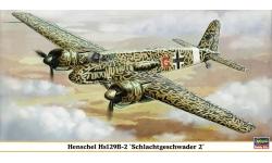 Hs 129B-2 Henschel - HASEGAWA 09743 1/48