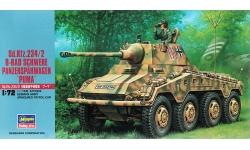 Schwerer Panzerspähwagen Sd.Kfz. 234/2, Büssing-NAG, Puma - HASEGAWA 31152 MT52 1/72