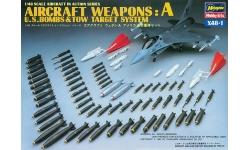 Бомбовое вооружение ВВС США. Часть А - HASEGAWA 36001 X48-1 1/48