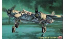 Ta 154A-0 Focke-Wulf, Moskito - HASEGAWA 51216 CP16 1/72