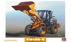 Hitachi ZW100-6 - HASEGAWA 66004 WM04 1/35