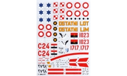 МиГ-17Ф - HI-DECAL LINE 48-005 1/48
