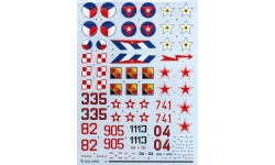 МиГ-19П/ПМ - HI-DECAL LINE 48-020 1/48