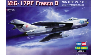 МиГ-17ПФ / Lim-5P PZL Mielec / J-5A Shenyang - HOBBY BOSS 80336 1/48