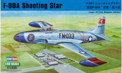 F-80A Lockheed, Shooting Star - HOBBY BOSS 81723 1/48