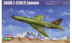 J 32B/E SAAB, Lansen - HOBBY BOSS 81752 1/48