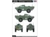 M706 V-100 Cadillac Gage, Commando - HOBBY BOSS 82418 1/35