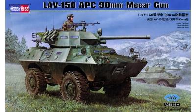 M706 V-150 Cadillac Gage, Commando - HOBBY BOSS 82421 1/35