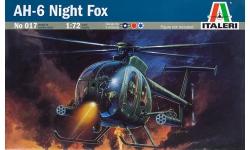 AH-6C Little Bird / MD 530 Nightfox McDonnell Douglas & OH-6D Kawasaki - ITALERI 017 1/72
