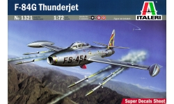 F-84G Republic, Thunderjet - ITALERI 1321 1/72