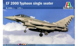 Typhoon Eurofighter (EF-2000), Single-seat variant - ITALERI 1355 1/72