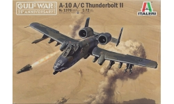A-10A/C Fairchild Republic, Thunderbolt II - ITALERI 1376 1/72