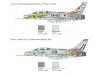 F-100F North American, Super Sabre - ITALERI 1398 1/72