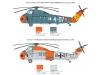HSS-1 (SH-34G) Seabat / UH-34J, Sikorsky - ITALERI 1417 1/72