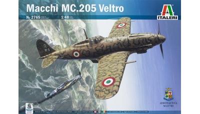 C.205V Aeronautica Macchi, Veltro - ITALERI 2765 1/48
