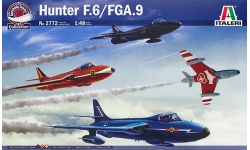 Hunter F.6/FGA.9 Hawker Siddeley - ITALERI 2772 1/48