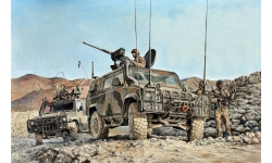 LMV (Light Multirole Vehicle) Iveco, Lince - ITALERI 6504 1/35