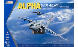 Alpha Jet A/E Dassault, Dornier - KINETIC K48043 1/48
