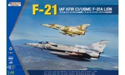 Kfir C-1/F-21A Lion IAI - KINETIC K48053 1/48