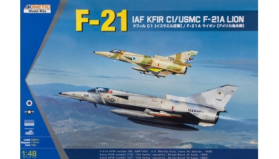 Kfir C-1/F-21A Lion IAI - KINETIC K48053 1/48