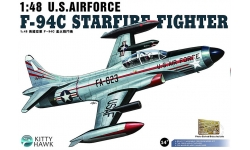 F-94C Lockheed, Starfire - KITTY HAWK KH80101 1/48