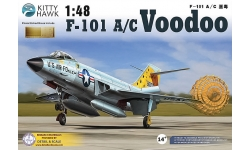 F-101A/C McDonnell, Voodoo - KITTY HAWK KH80115 1/48