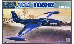 F2H-2/2P McDonnell, Banshee - KITTY HAWK KH80131 1/48