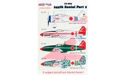 Ki-27b Nakajima & Ki-61-Ib / Ic / Id Kawasaki, Hien - LIFELIKE DECALS 72-004 1/72