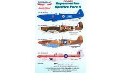 Spitfire Mk Va & Mk Vb & Mk XVI Supermarine - LIFELIKE DECALS 72-024 1/72