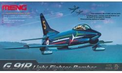 G.91R1/3 FIAT, Aeritalia, Gina - MENG DS-004 1/72