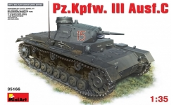 Panzerkampfwagen III, Sd.Kfz. 141 Ausf. C, Daimler-Benz - MINIART 35166 1/35