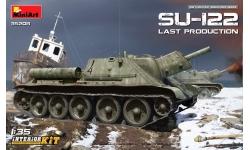 СУ-122 УЗТМ - MINIART 35208 1/35