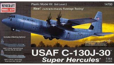 C-130J-30 Lockheed Martin, Super Hercules - MINICRAFT 14700 1/144