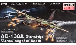 AC-130A Lockheed, Spectre - MINICRAFT 14742 1/144