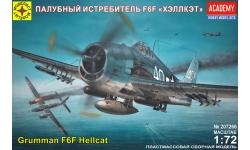 F6F-3/5 Grumman, Hellcat - МОДЕЛИСТ 207266 1/72