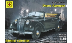 Opel Admiral Cabriolet 1938 - МОДЕЛИСТ 303551 1/35