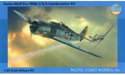 Fw 190A-1 / A-2 / A-3 Focke-Wulf - PACIFIC COAST MODELS PCM 32011 1/32