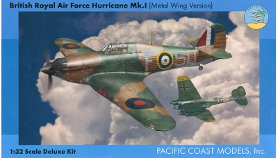 Hurricane Mk. I Hawker - PACIFIC COAST MODELS PCM 32012 1/32 PREORD