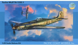 Ta 152C-1 Focke-Wulf - PACIFIC COAST MODELS PCM 32014 1/32