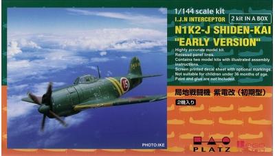 N1K2-J Kawanishi, Shiden KAI, George - PLATZ PD-11 1/144